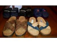 5 pairs Size 7 Sandals