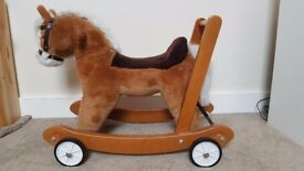 Mulholland and Bailie push along/ride on/rocking horse