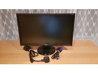 """Acer 22"""" full HD, LCD PC monitor in great condition V223HQV"""
