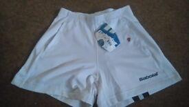 Babolat tennis / badminton shorts brand new