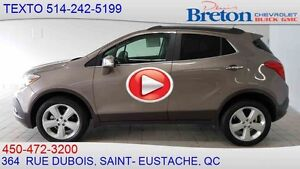 2015 BUICK ENCORE AWD LEATHER CUIR, VOLANT CHAUFFANT, TOIT OUVRA