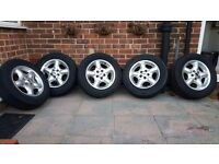Freelander alloys and tyres