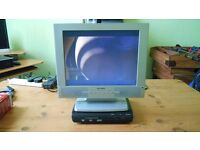 Alba Flat Screen Monitor with DVD Player and Freeview Box