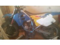 READ ADD NO TIME WASTERS TM80CC enduro project