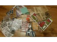 Job lot of card craft items