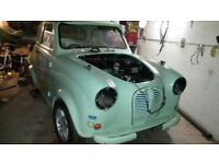 Austin A35 fitted with ford 1300gt crossflow engine swap or sale