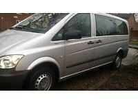2013 Mercedes Vito 2.1 113 CDI diesel Traveliner Blu Efficiency 9 seater minibus mpv