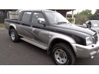 2004 Mitsubishi L200 Animal Double Cab pick up, Drives Real Good, NO VAT