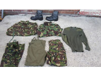 British army clothing bundle