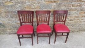 chairs set of 3