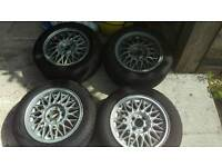 Bbs Alloy wheels of an mx5 polo bmw