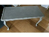Shabby chic coffee table annie sloan