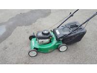 qualcast rotary petrol lawn mower (self propelled)