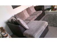 **FOR SALE** Like New Brown/Beige Corner Sofa
