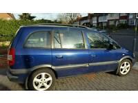 2004 Vauxhall zafira 1.6 gas coverted
