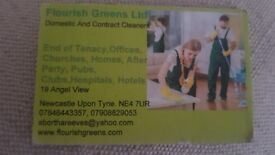 For all your domestic, offices, end of Tenancy, churches, homes, after party, pubs, clubs, hospital