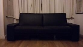 Sofa bed dark stylish