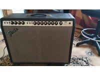 1977 Fender Twin Reverb - Silverface - MODDED to Blackface spec