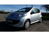 *!*ONLY GROUP 3 INSURANCE*!* 2006 Peugeot 107 1.0 Urban **FULL YEARS MOT** **£20 PER YEAR TAX**
