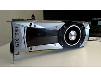 Nvidia GTX 1080 Founders Edition 8GB GDDR5 (2.5 WEEKS OLD)