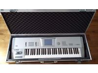 Korg Trinity Workstation with PBS-TRI Option - Used in very good condition. Plus flight-case