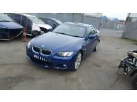 "2010 BMW E93 330D BLUE N57d30a ENGINE GEARBOX TURBO 19"" ALLOYS HEADLIGHT WING MIRROR"