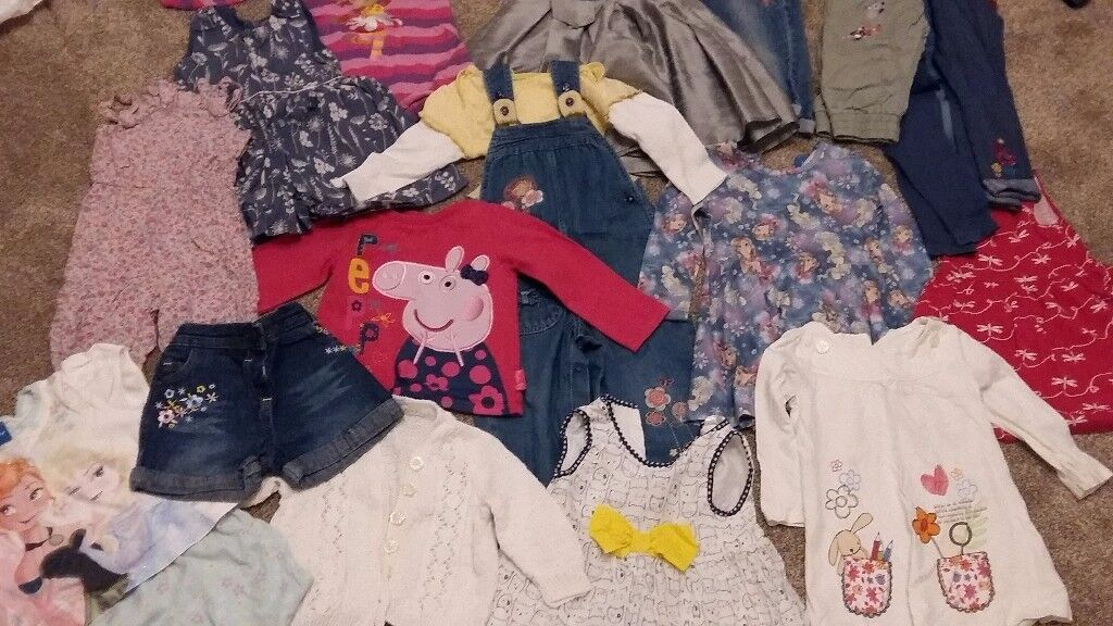 12-18months girls clothes bundle