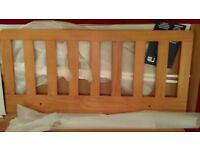 NEW Mothercare Wooden Bed Guard