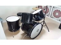 Drum kit with chair for sale