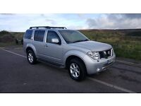 2008 NISSAN PATHFINDER 2.5 AVENTURA DCI 5D AUTO DIESEL 7 SEATER RECON ENGINE FITTED 6000 MILES AGO