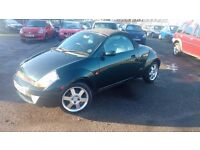 Ford Ka STREETKA CONVERTIBLE 1.6 2004 6 Months MOT GOOD CONDITION P/X WELCOME LOW MILEAGE