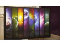 Planets canvas