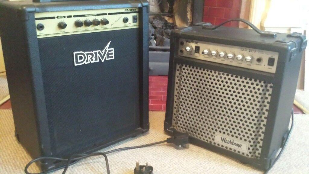 2 Guitar Amps