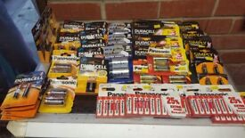Batteries...assorted