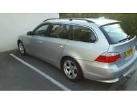 For Sale-Silver BMW 525d Touring Auto 2004