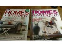 50 home and antique magazines