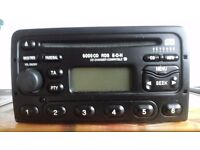 RDS CD CAR RADIO with code