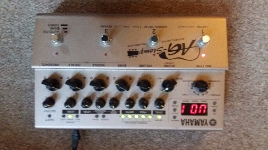 Yamaha AG Acoustic guitar Pre-amp Unit. Studio or stage use.