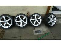 "Tekno alloy wheels 17"" 4x108"