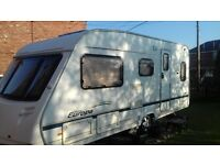 Sterling Europa 2005 fixed bed caravan