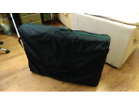 Folding, Portable Massage Table with Carry Case in Very Good Condition