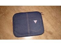 Guess clutch, tablet case, pouch