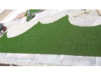 Astroturf off- cut great quality, brand new (7m length x 1m width)