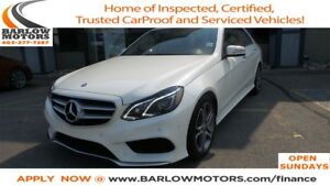 2014 Mercedes-Benz E-Class E300 4MATIC | NAVI | LEATHER | SUNROO