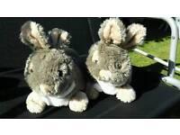 Rabbit slippers size 6