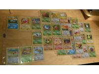 Pokemon cards - original vintage part complete Jungle set 35/64