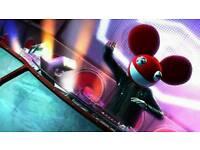 DJ Hero 1 & 2 (Xbox 360) with two decks