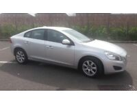 2010(60)VOLVO S60 2.0 D3 MET SILVER,NEW SHAPE,FSH,2 OWNER,NEW MOT,6 SPEED,BIG MPG,LOVELY CAR