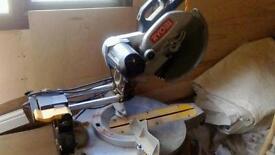 Ryobi pull over chop saw