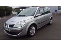 7 SEATER RENAULT GRAND SCENIC AUTOMATIC IN EXCELLENT CONDITION. 1 YEAR MOT. FULL SERVICE HISTORY
